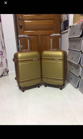 20 Inch Cabin size Luggage Bag Twin Pack