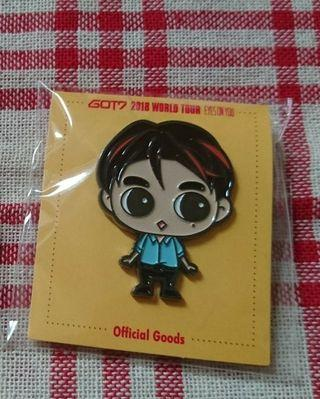 GOT7 2018 World Tour Eyes On You Gotoon Badge - Bambam