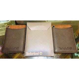 (2片裝) 天伯倫 Tlmberland 真皮 證件套 卡套 悠遊卡套