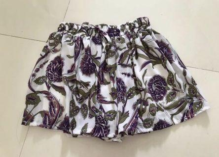 Floral skorts clearance