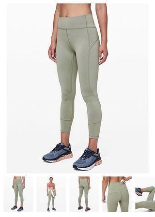 Lululemon 7/8 Yoga Pants