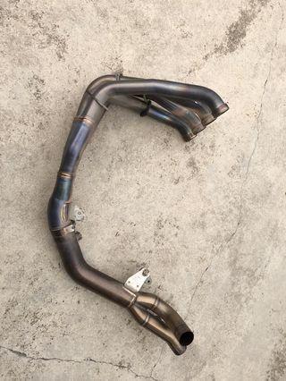 yamaha r1 piping manifold