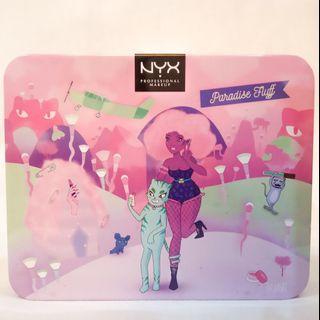 NYX paradise Fluff Set Eyeshadow Pallet