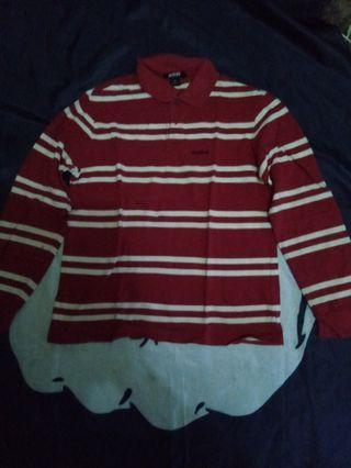 Polo shirt long sleve A&D