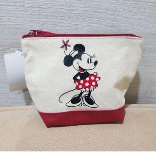 東京迪士尼米妮化妝萬用包