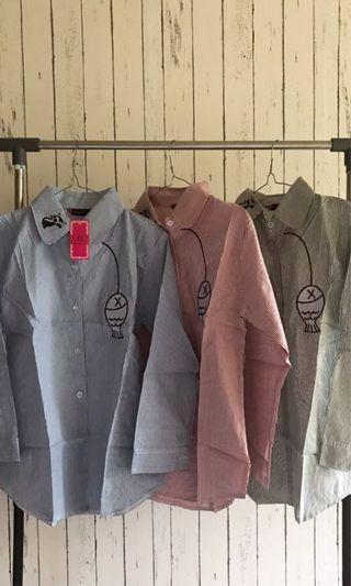 Kemeja anak abg blouse murah