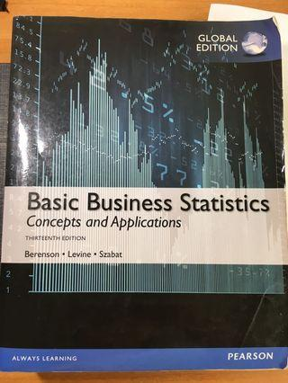 Basic Business Statistics基礎商用統計學