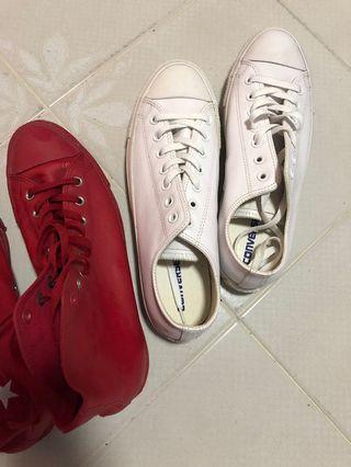 Genuine Converse Leather Sneakers US11.5/UK10.5/EU45