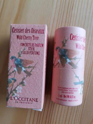 L'occitane Wild Cherry Tree Stick Perfume