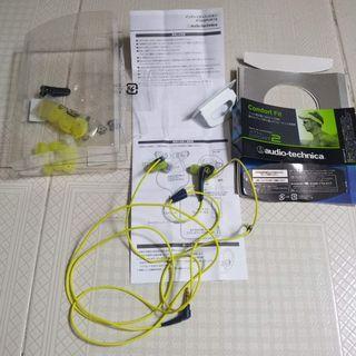 Audio Technica Sport2 iems. No Mic No Bluetooth