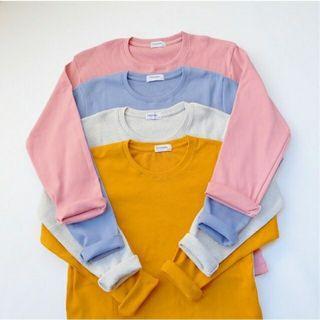 Kaos Sweater Lengan Panjang