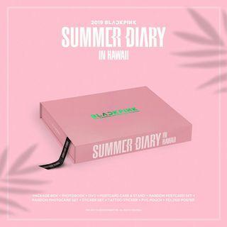 Blackpink Summer Diary Ready Stock