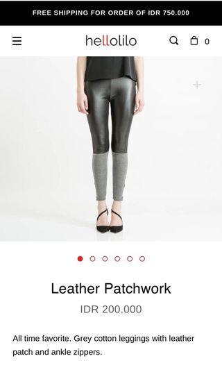 Hellolilo legging leather