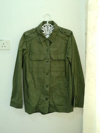 Green Army Jacket/Shirt