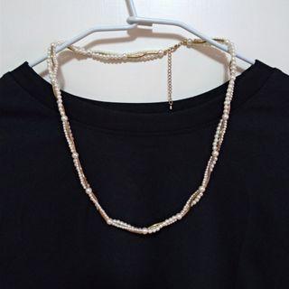 曲管珍珠項鍊