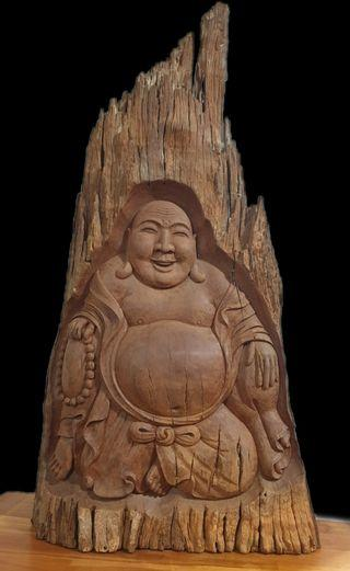 Old Belian Laughing Buddha