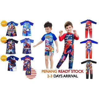 MALAYSIA READY STOCK 💥Kids Swimming Suit/Costume