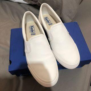 KEDS ANCHOR SLIP CANVAS WHITE (slip on)