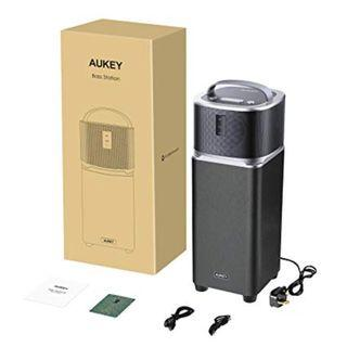 AUKEY Bluetooth Speaker System 25W Wireless Speaker with Enhanced Bass via Dedicated Tower Subwoofer for iPhone, iPad, Samsung Phones and More