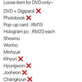Monsta X DVD We Are Here Loose