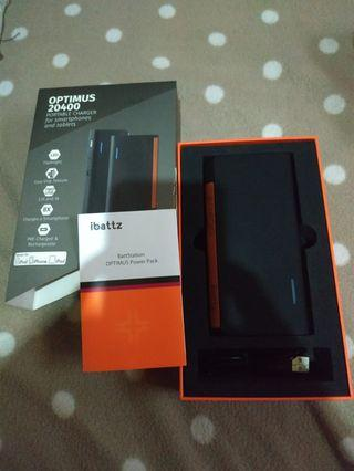Powerbank Ibattzz 20.400MAH