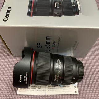 Canon 16-35mm F4 L IS USM (公)