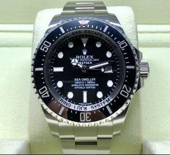 Rolex Deepsea Sea-Dweller DSSD 116660 G Series