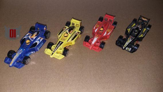 Hot Wheels F1 McDonalds Lot