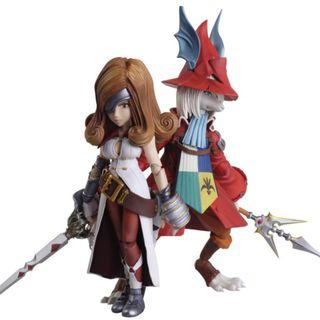 PRE-ORDER Square Enix - Final Fantasy IX Bring Arts - Freya Crescent & Beatrix