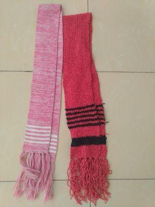 Syal rajut shawl