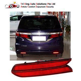 Honda Odyssey 2016 Rear Bumper Reflector LED guide strip light