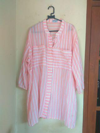 Blues Stripe Peach. SALE!!!