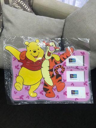Winnie the Pooh Plastic Photo Frame #MRTToaPayoh