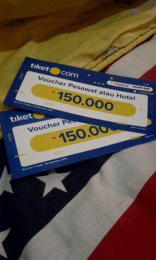 Voucher 150rb ticket.com