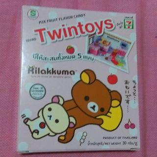 泰國7-11限定 Twintoys 拉拉熊 場景組 食玩 可挑款 水果糖 家居組 懶懶熊 rilakkuma