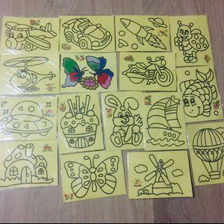 Children Goodie Bag /sand art