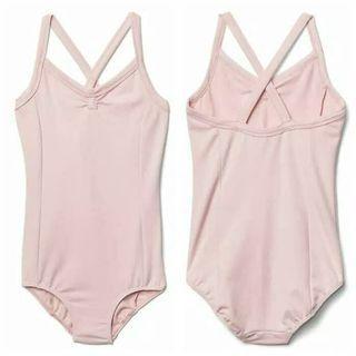 Baju Ballet Gymnastic Camisole Leotard pink GapFit Girl Anak Perempua