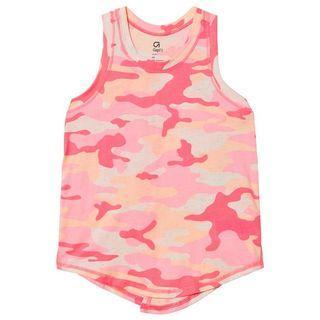 GapFit Womens Tank Tops Yoga Workout Sassy Pink Singlet Gym Wanita