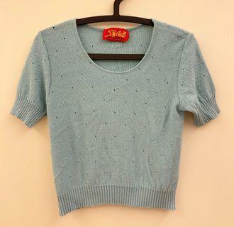 🇫🇷法國 Vintage 針織短衫(含運)