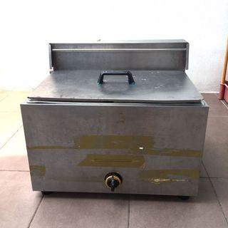Industrial Deep Fryer - Double tank  (CAN NEGO)