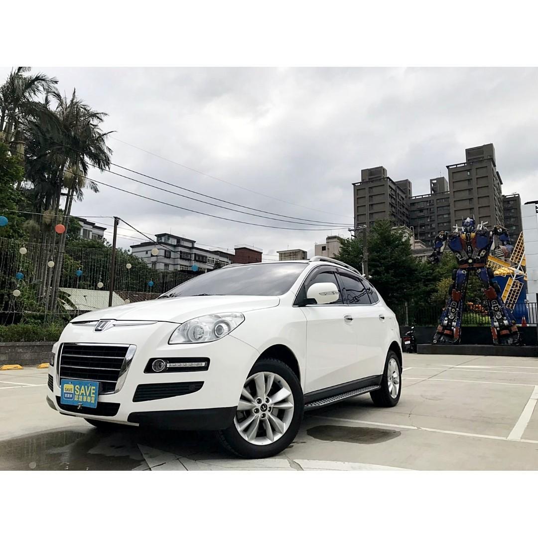 2012年 納智傑 7 SUV 跨世紀運動休旅車 一手車 已認證 內外如新 有電動尾門 黑內裝 可超貸數十萬