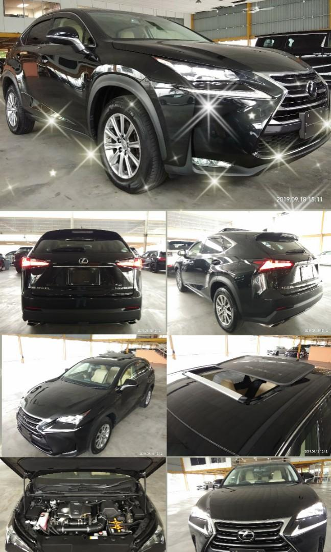 2016 TOYOTA LEXUS NX200T 2.0T on the road price rm228,888