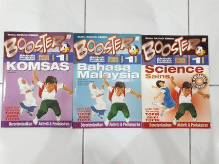 KBSM Form 1 BOOSTER Komsas,BahasaMalaysia,Science