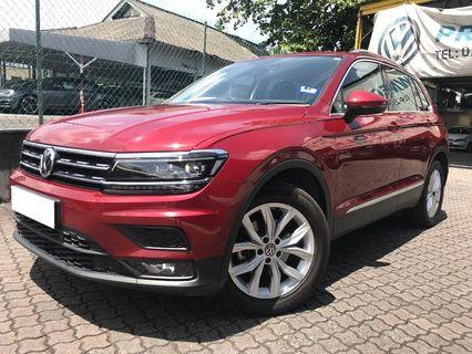 VOLKSWAGEN TIGUAN 1.4 (A) RED FAMILY