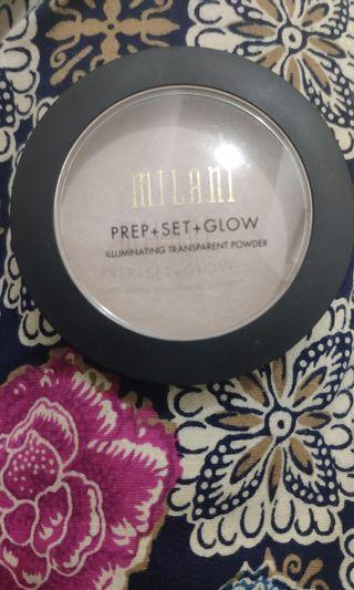[Preloved] Milani Prep Set Glow Transparent Powder #2