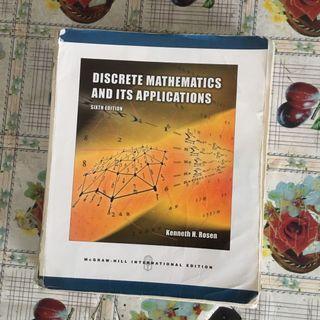 Discrete Mathematics Text Book