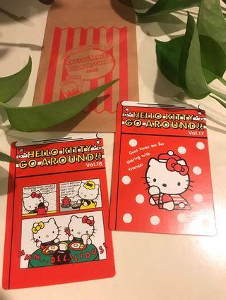 Hello Kitty Go Around Singapore Collectable Card 1989 & 1990