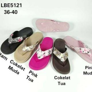 Flatshoes Sandal Jepit New Era import Wanita Sendal Pylon