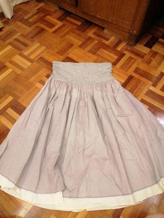 Tube dress skirt