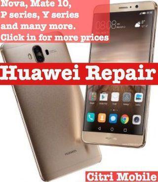 Huawei Phone Screen Repair, Mate 20 P30 P20 Pro Lite Honor Repair